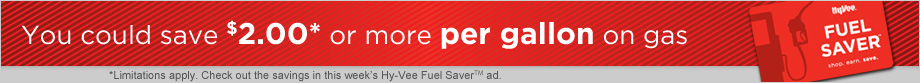 Sign up for Fuel Saver