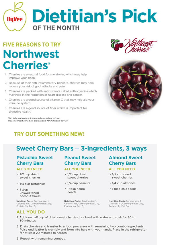 July Dietitian Pick - Cherries