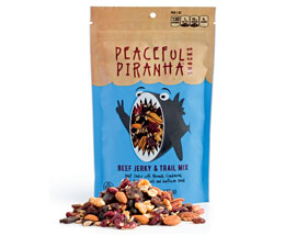 Dietitian Pick June - Peaceful Piranha Beef Jerky & Trail Mix