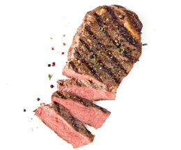 Dietitian Pick March - NY Strip Steaks