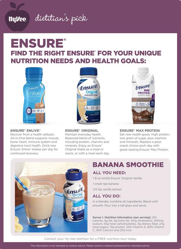 May Dietitian Pick - Ensure1