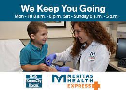 Meritas Health - We're Now Open