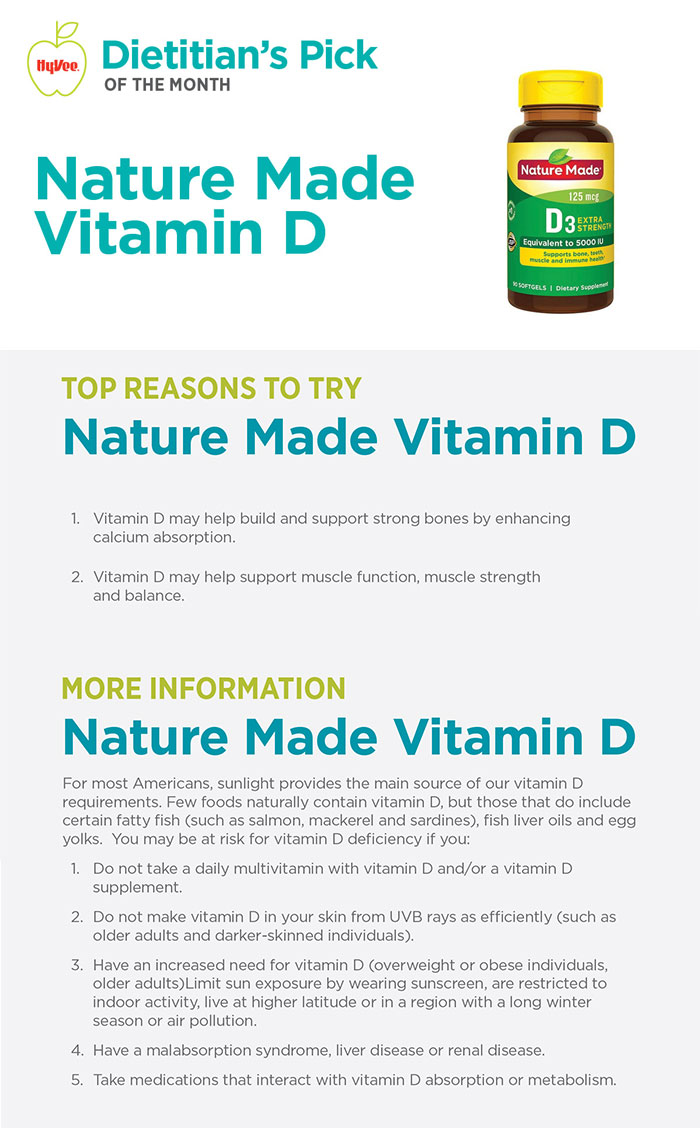 Jan Dietitian POM - Nature Made Vitamin D