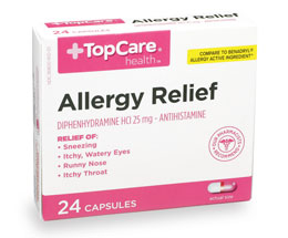 August Pharmacist Pick - TopCare Allergy Relief