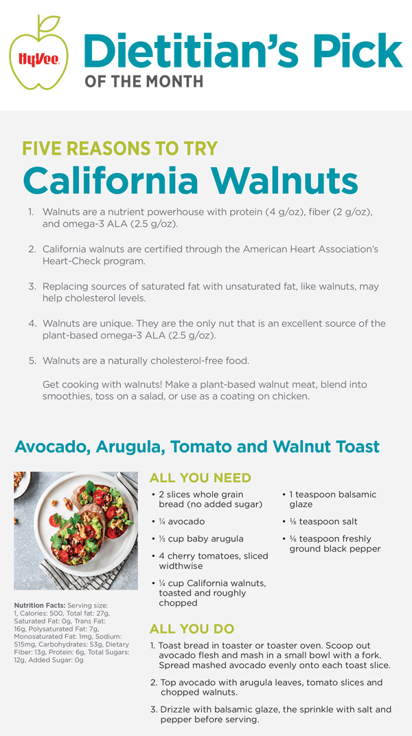 Sept Pick - Cali Walnuts
