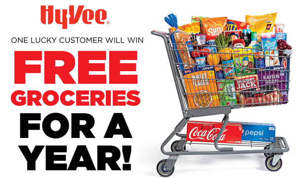 Free groceries for a year