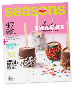 Hy-Vee Seasons Magazine Back to School 2014
