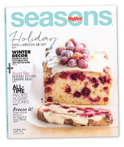 FREE Hy-Vee Seasons Magazine..