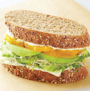 California Vegetarian Sandwiches - Recipe