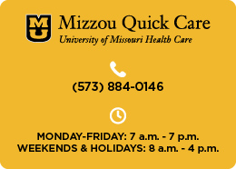 Mizzou Quick Care