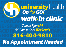 University Health walk in clinic