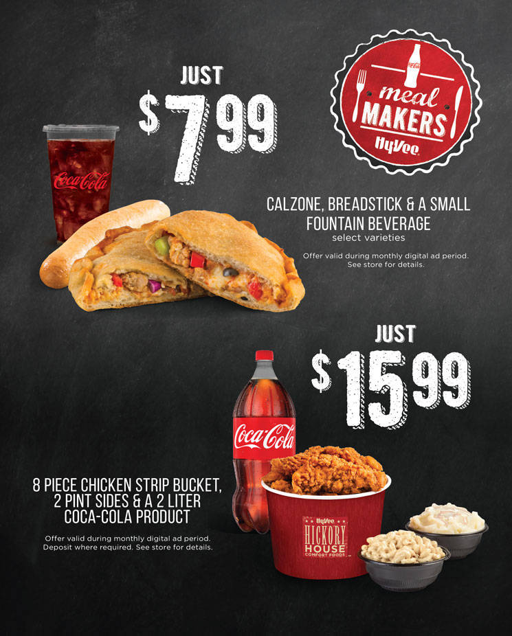 August Coke Meal Makers Flyer