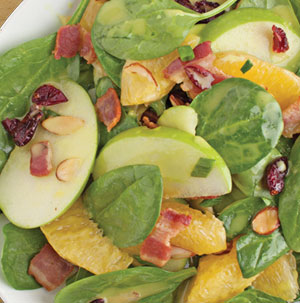 Applewood Bacon Spinach Salad