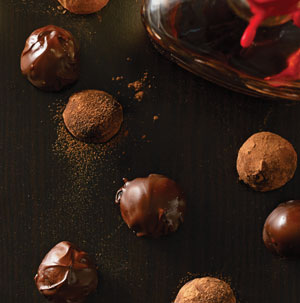 Bittersweet Chocolate Bourbon Balls - Recipe