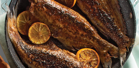 Blackened Cajun Whole Catfish