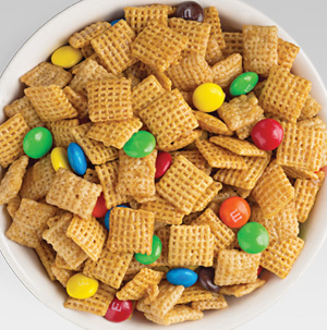 Crispy Chex Mix