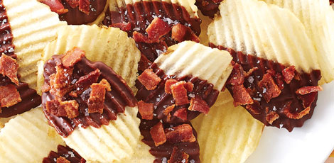 Chocolate-Bacon Chips