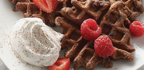 Chocolate-Lover's Waffles