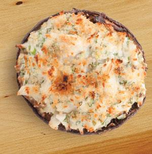 Crab-Stuffed Mushrooms - Recipe