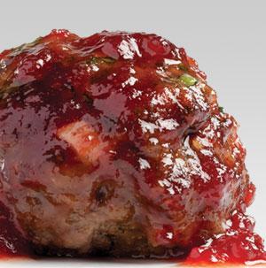Cranberry Appetizer Meatballs - Recipe