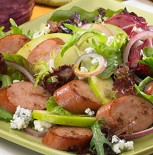 Crisp Apple and Sausage Salad - Recipe