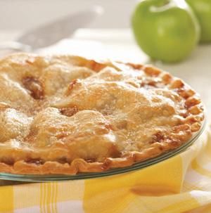 Double Crust Apple Pie Recipe — Dishmaps