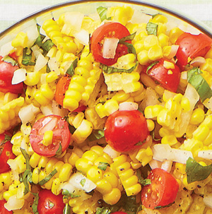Fresh Corn and Tomato Salad - Recipe