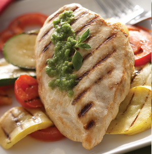 Grilled Chicken with Chimichurri Sauce - Recipe