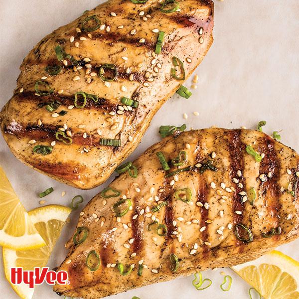honey sesame seed grilled chicken