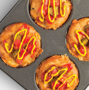 Impossibly Easy Cheeseburger Pies