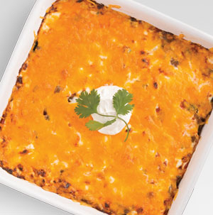 Mexican Beef Corn Casserole