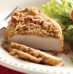 Pecan crusted pork chops recipe