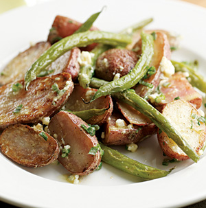 Roasted New Potatoes and Green Beans