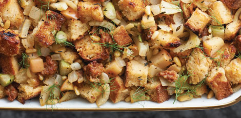 Sausage, Fennel and Apple Stuffing