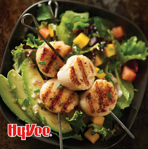 Scallop Salad with Cilantro and Lime