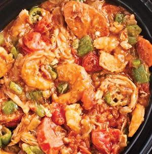 Shrimp, Chicken and Andouille Sausage Gumbo - Recipe