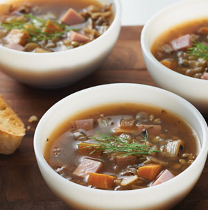 Smoked Ham and Lentil Soup