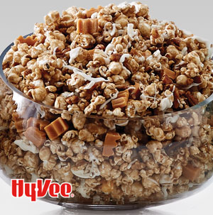 Sweet Cinnamon Roll Popcorn