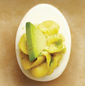 Avocado Egg Filling