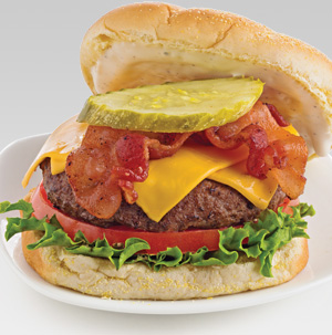 Ranch-Bacon Cheeseburger