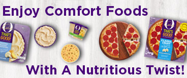 Enjoy Comfort Foods With A Nutritious Twist!