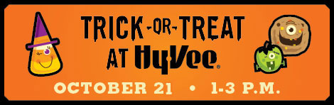 Trick or Treat at Hy-Vee