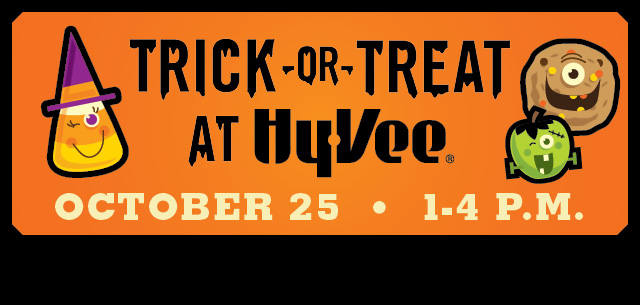 Trick-or-treat at Hy-Vee