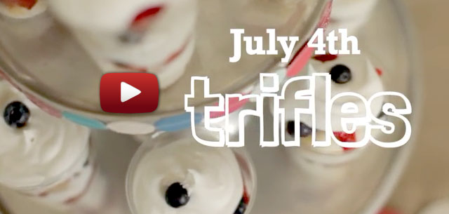 How to make July 4th Trifles