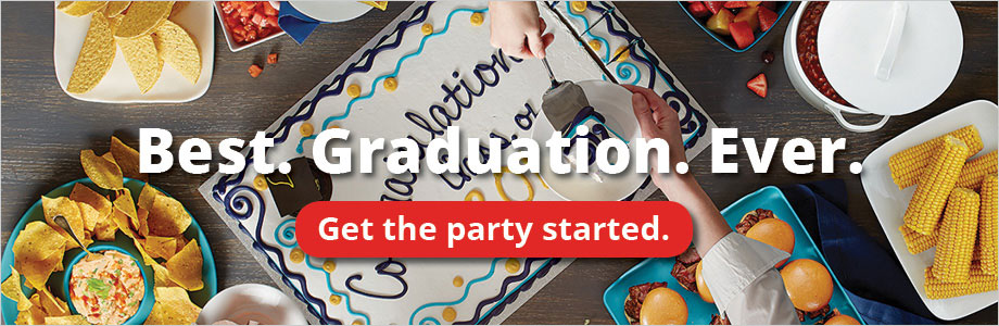 Best. Graduation. Ever. Get the party started