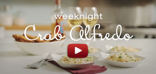 How to make weeknight crab alfredo