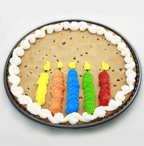 Hy Vee Cakes Prices How To Order: #7 Candles Decorated Message Cookie
