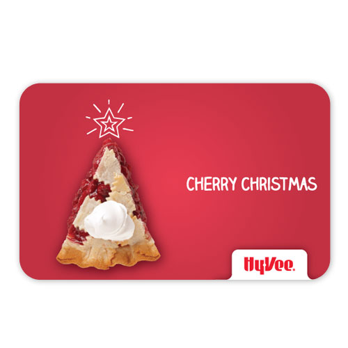 ... - Hy-Vee Gift Cards - Hy-Vee Gift Card - Cherry Christmas (284720