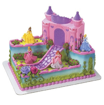 Walmart Birthday Cake Designs on Hy Vee   Signature Cakes   Signature Disney Princess Castle Cake 31824