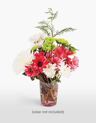 shop floral weekly specials christmas sparkle bouquet. Black Bedroom Furniture Sets. Home Design Ideas